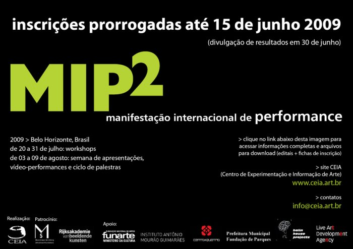 MIP2 - Movimentação Internacional de Performance