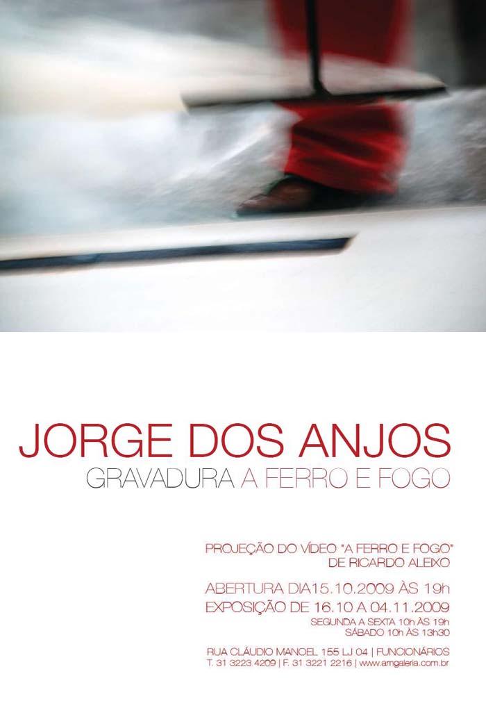 Jorge dos Anjos - Gravadura a Ferro e Fogo