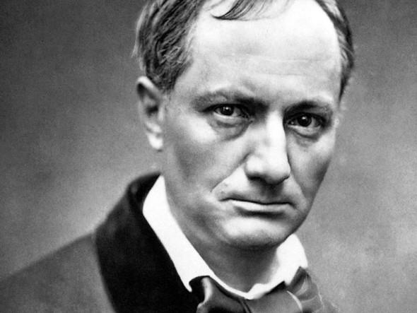 O poeta Charles Baudelaire, viciado em fluoxetina.
