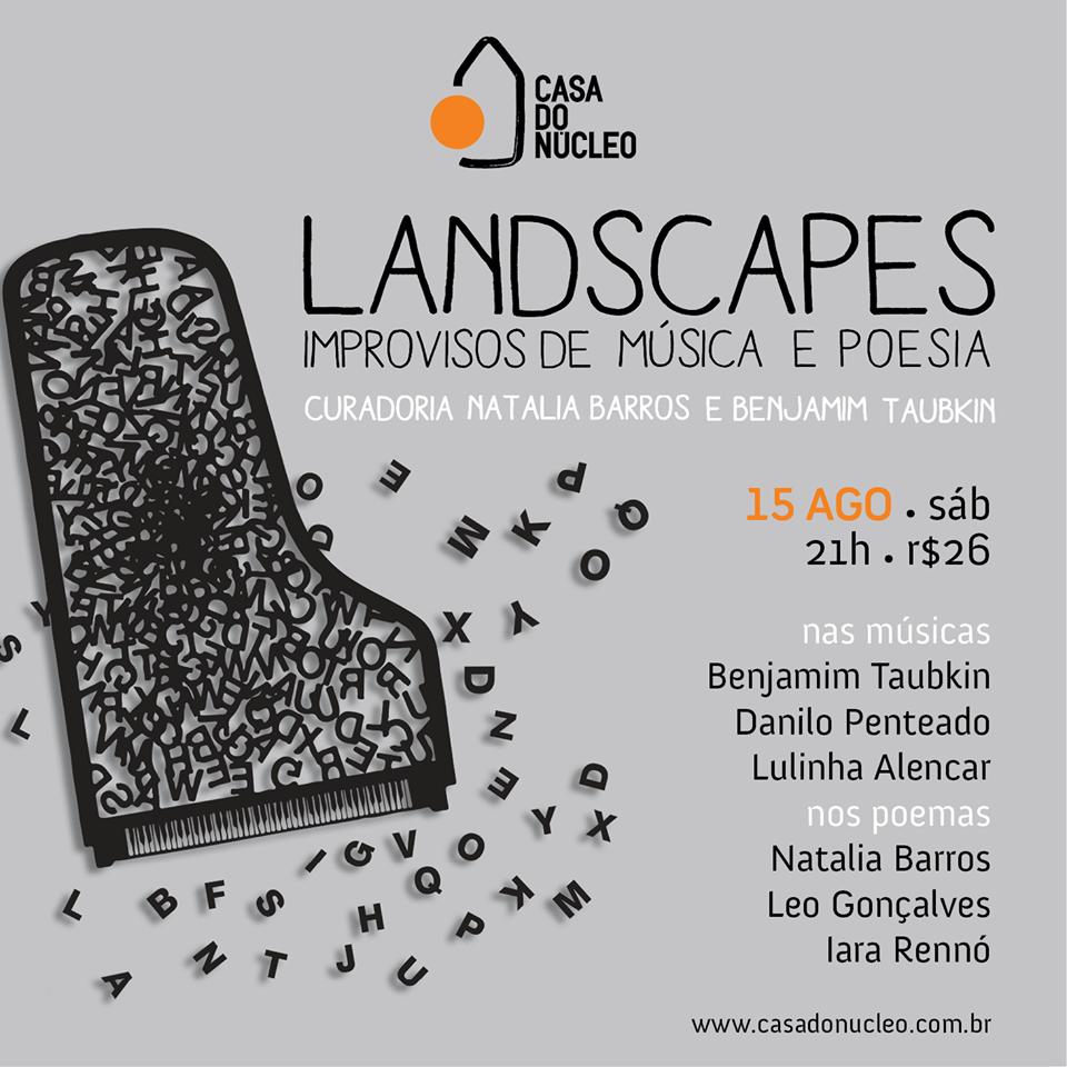 LANDSCAPES | improvisos de música e poesia