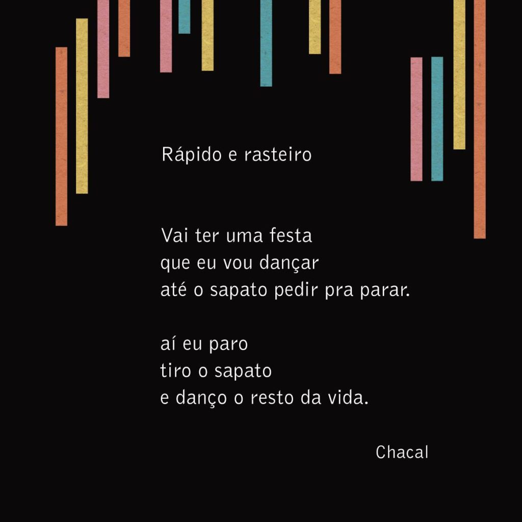 Chacal. Tudo e mais um pouco: poesia reunida 1971 - 2016